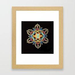 Dacota Framed Art Print