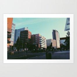 Sheffield Skyscrapers Art Print