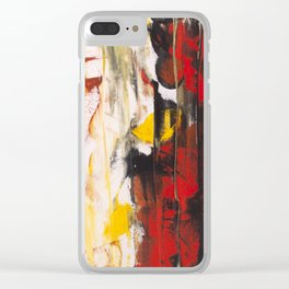 Burning Daisy's In The Morning Clear iPhone Case