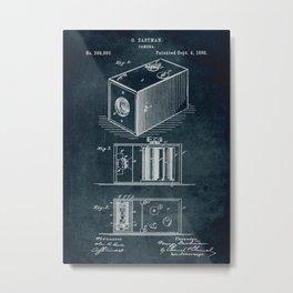 1888 Camera patent art Metal Print