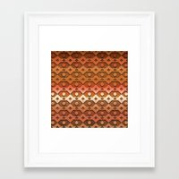 copper Framed Art Prints featuring Copper by Lyle Hatch