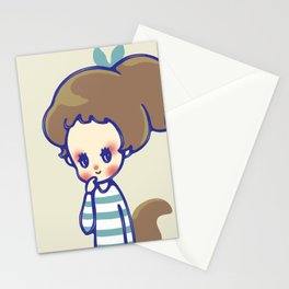 why are you smiling? Stationery Cards