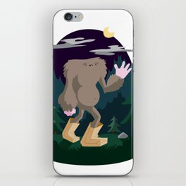 The Legendary Bagfoot iPhone Skin