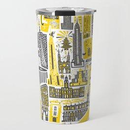 Manhattan New York Map Travel Mug