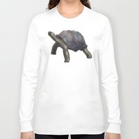 tortoise Long Sleeve T-shirts featuring Tortoise by Ben Geiger