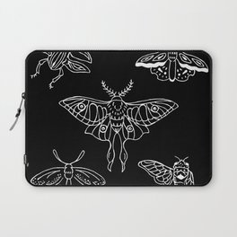 Flying Insect Themed Illustration Laptop Sleeve