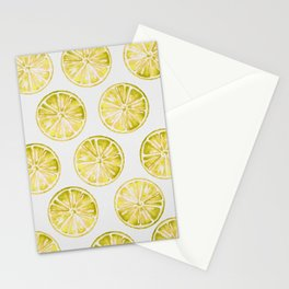 Yellow Citrus Stationery Cards