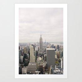 Empire State Building New York City, USA - Travel Photography fine art wall print Art Print