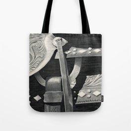 Side Saddle Tote Bag