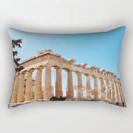 The Parthenon, Acropolis of Athens, Greece photography, ancient Greek Rectangular Pillow