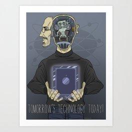 Jobs...Inventor, Dreamer,...Arquillian Art Print