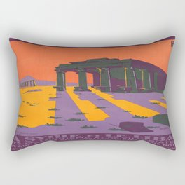 Vintage poster - Syria Rectangular Pillow