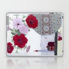 Petunias and Seascape Laptop & iPad Skin