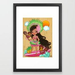 Lanakai Kauai Framed Art Print