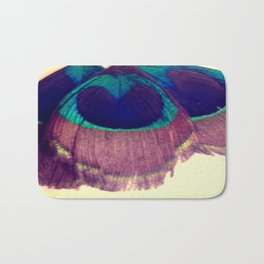 Peacocking Bath Mat