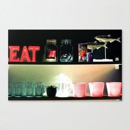 Eat.... Canvas Print