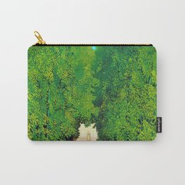 12,000pixel-500dpi - Henri Rousseau - The Avenue in the Park at Saint Cloud - Digital Remastered Carry-All Pouch
