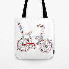 Aztec Bicycle Tote Bag
