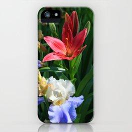 Iris & Lily iPhone Case