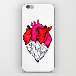 Crystal Heart iPhone Skin