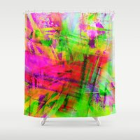 cowboy Shower Curtains featuring situation cowboy by David Mark Lane