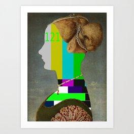 testa Art Print