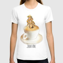 Join Me the Coffee is Fine T-shirt