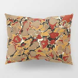 Old Marbled Paper 04 Pillow Sham