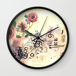 The Math Teacher Is In Love Wall Clock