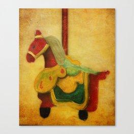The Woo Woo Carousel Horse Canvas Print