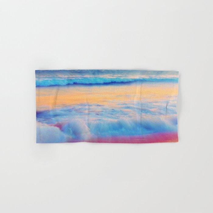 Pastel sea  Hand & Bath Towel