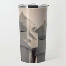 Gaudi's Chimneys Travel Mug