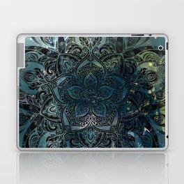 Flower mandala -night Laptop & iPad Skin