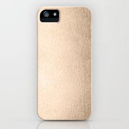Tahitian Summer Gold iPhone Case