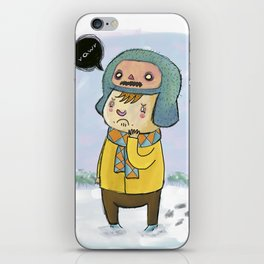 Two mechanical ghosts iPhone Skin
