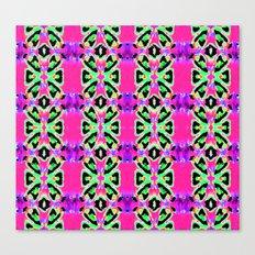 Neon Vibrations Canvas Print