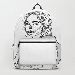 Serpent Skin Backpack