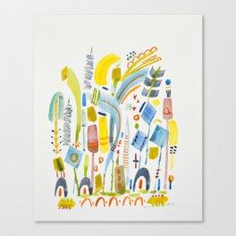 No. 16 (tender) Canvas Print