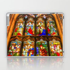 Stained Glass Window Laptop & iPad Skin
