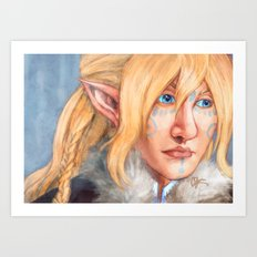 Winterborn Art Print