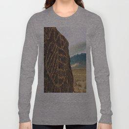 High Desert Petroglyphs Long Sleeve T-shirt