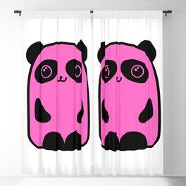 Cute Pinky Panda Blackout Curtain