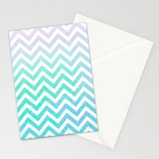 Fairy Dust Chevron Stationery Cards