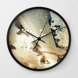 Gard Du Nord Metro Madness Wall Clock