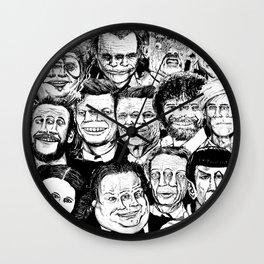 Dead Celebrities Wall Clock