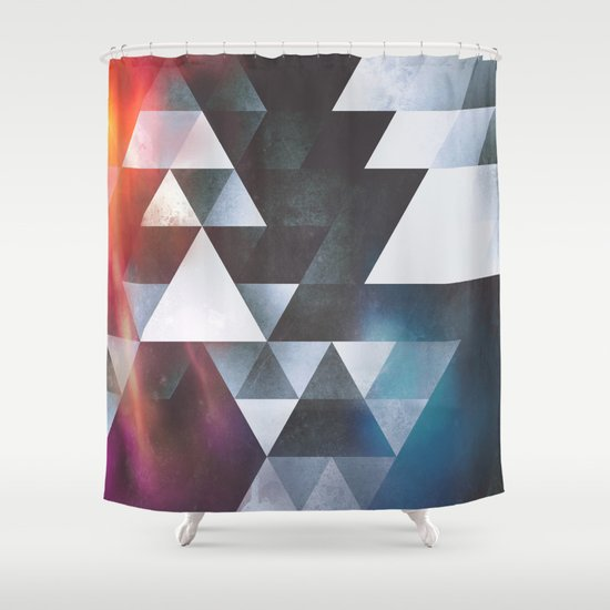 wyy tww gryy Shower Curtain