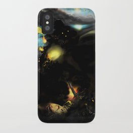 Red War Planet iPhone Case