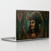 captain hook Laptop & iPad Skins featuring Hook by ManuelDA