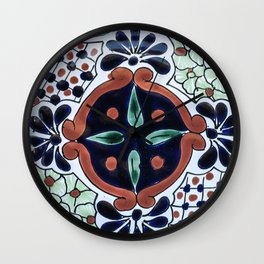 Talavera Seven Wall Clock