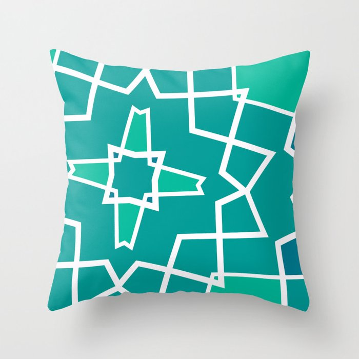 Geometric 02 Throw Pillow